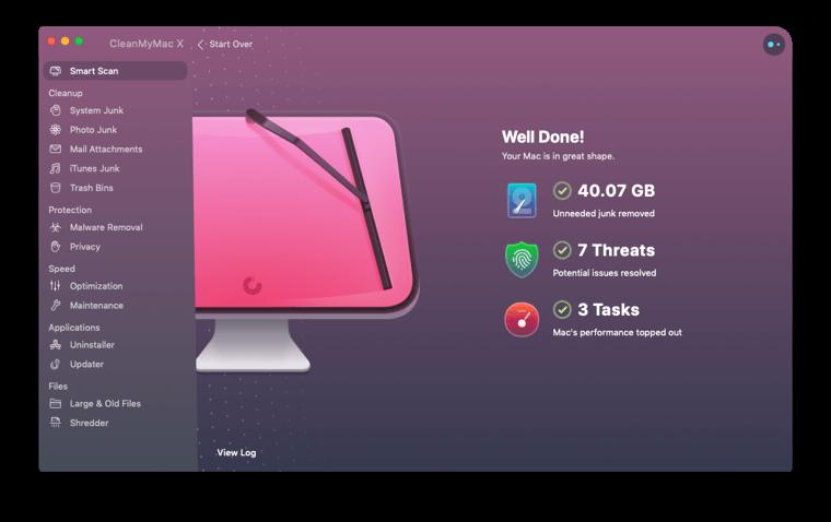 CleanMyMac X free