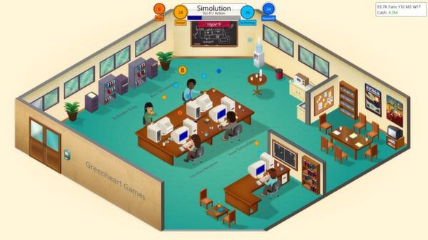 Game Dev Tycoon mac game