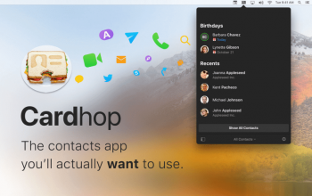 Cardhop [1.3.3] For Mac (Latest Version) Free Download