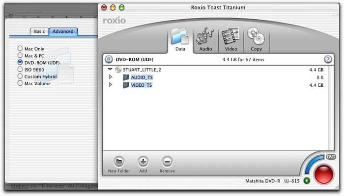 Roxio Toast Titanium [17.4] for mac