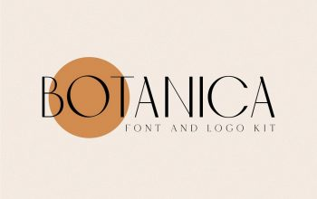 Creative Market – Botanica – Font And Logo Kit For Mac Free Download