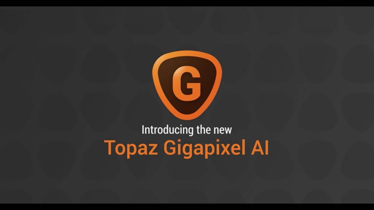 Topaz Gigapixel AI for mac