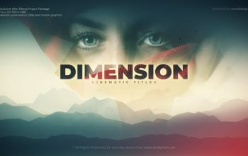 VideoHive Dimension Cinematic Title For Mac Free Download